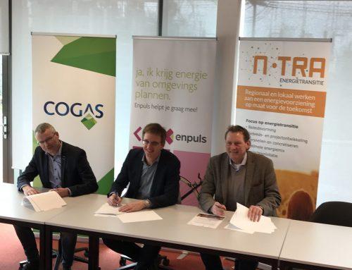 Cogas, Enpuls en N-TRA bundelen krachten om energietransitie te versnellen