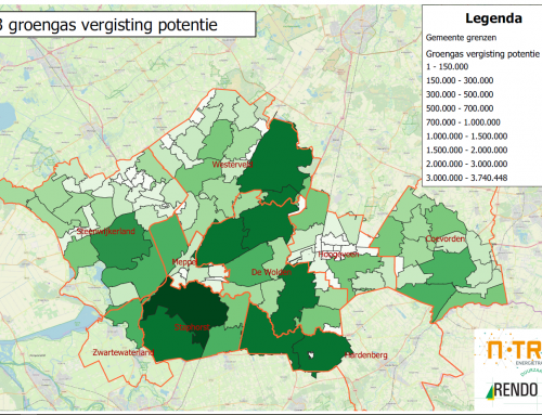 Aandeel groen gas neemt toe: kansen voor Drenthe & Overijssel