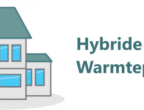 Hybride warmtepomp verlaagt het gasverbruik met twee derde