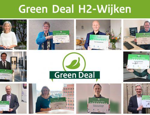 Sector en overheden sluiten Green Deal H2-Wijken